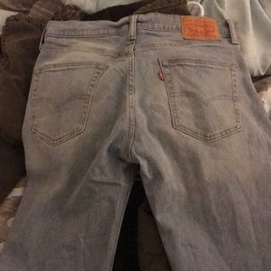 Levi 514 Jeans, Sz 32x34 Light Wash